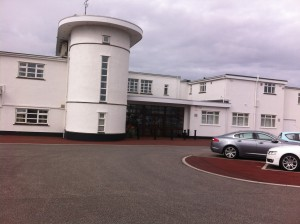 Royal Birkdale front entrance