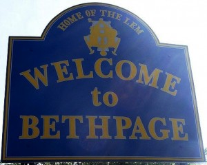 BethPage State Park Welcome Sign